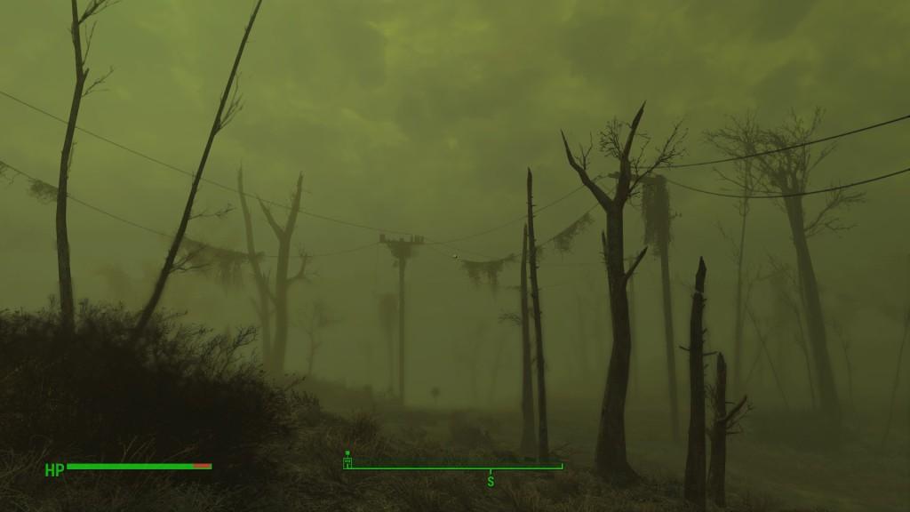 Parhaimmillaan Fallout 4:n ympäristöt ovat hyytävissä saastetunkioilla.